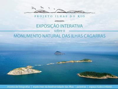 Exposição Interativa sobre o Monumento Natural das Ilhas das Cagarras 29/jan - 03/fev